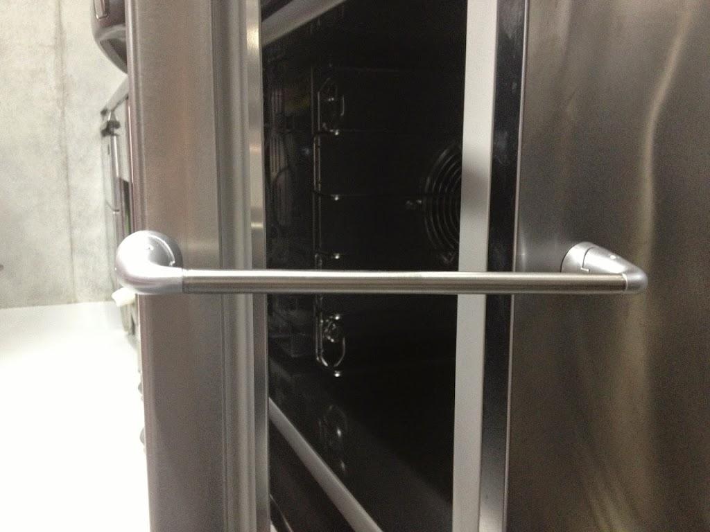 ブラストチラー(冷却器)の乾燥