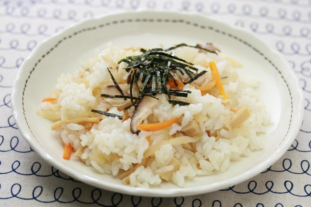切干大根の混ぜ寿司