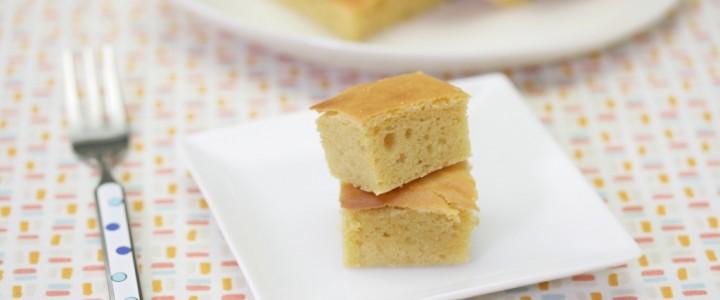 大豆粉を使ったケーキ