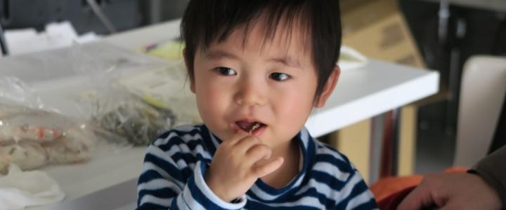 わんぱく料理・2歳児モニターさん